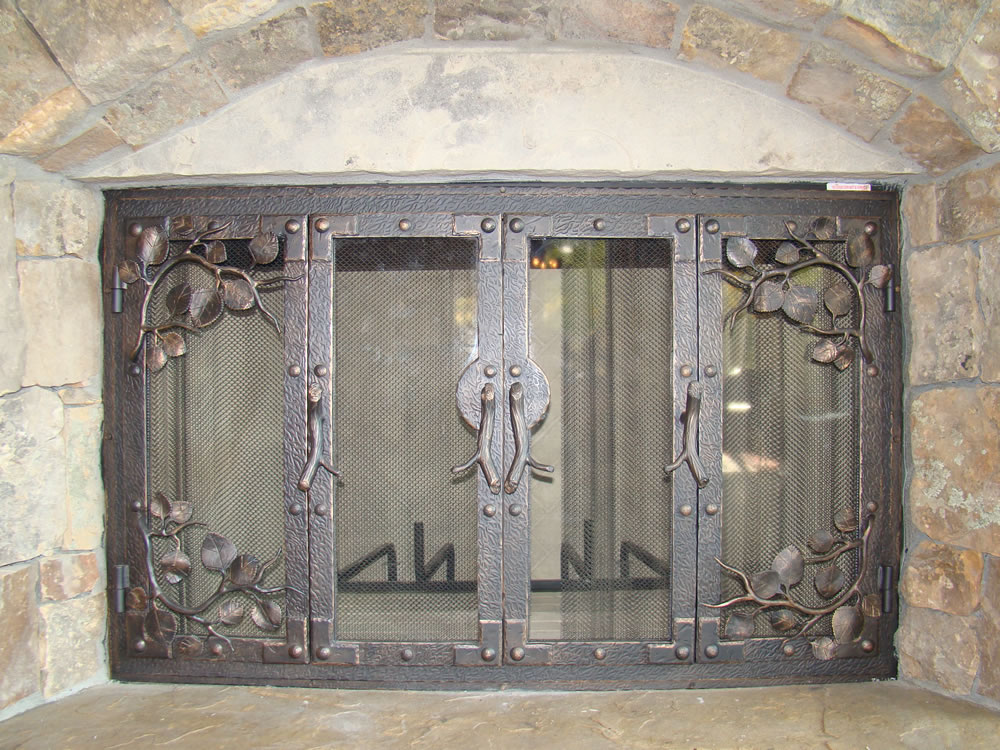 Bronze and Iron Fireplaces - Bronze & Iron Fireplaces